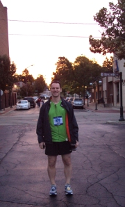 Gearing up for the 2011 Fox Valley Marathon
