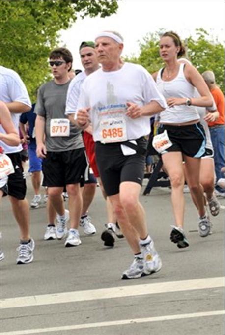 Chuck - Illinois Half Marathon